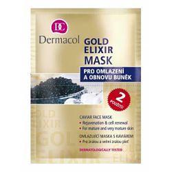 Dermacol Gold Elixír omlazující kaviárová maska