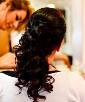 styling vlasů na svatbu