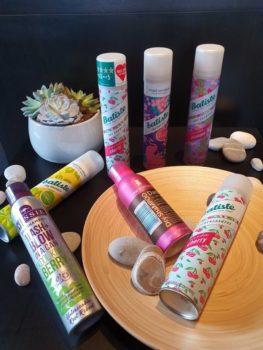 Moje sbírka suchých šamponů