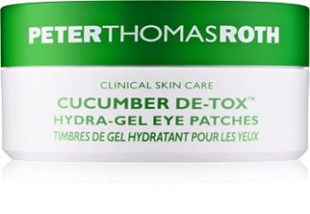 Peter Thomas Roth Cucumber De-Tox hydratační gelová maska na oč
