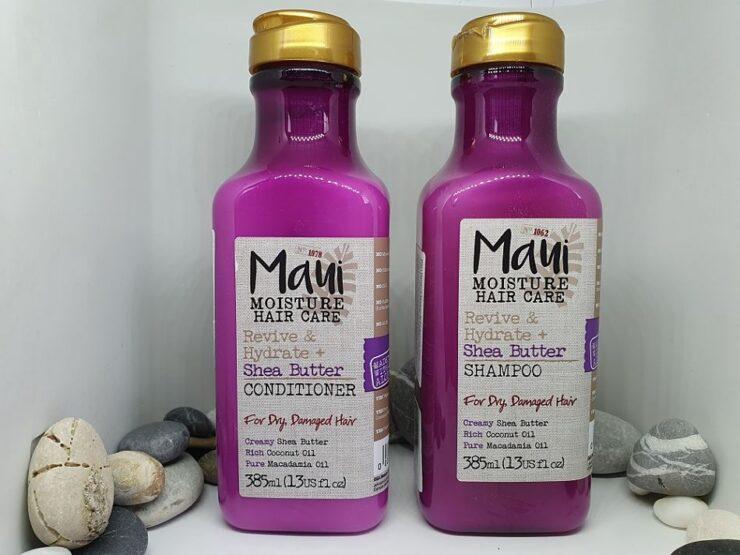 Maui Moisture kondicionér a šampon, růžový flakon