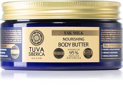 NATURA SIBERICA Tuva Siberica Yak Milk Nourishing Body Butter