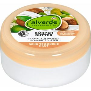 alverde Naturkosmetik tělové máslo